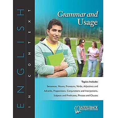 Saddleback Educational Publishing® Grammar and Usage; Grades 9-12