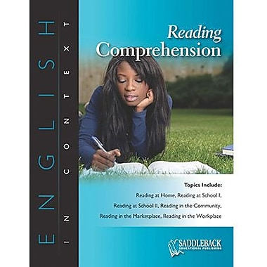 Saddleback Educational Publishing® Reading Comprehension; Grades 6-12