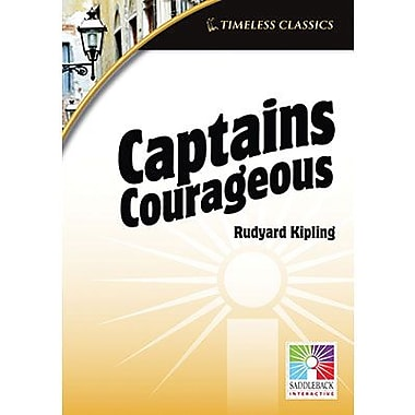 Saddleback Educational Publishing® Timeless Classics; Captains Courageous, IWB, Grades 9-12