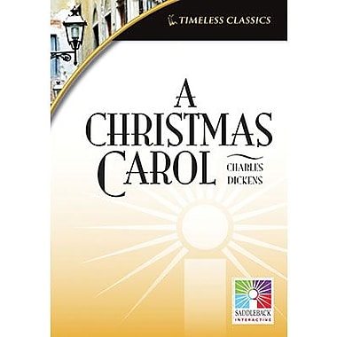 Saddleback Educational Publishing® Timeless Classics; A Christmas Carol, IWB, Grades 9-12