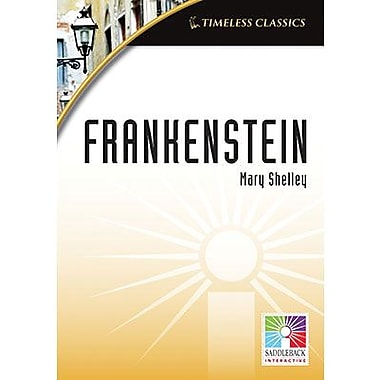 Saddleback Educational Publishing® Timeless Classics; Frankenstein, IWB, Grades 9 -12