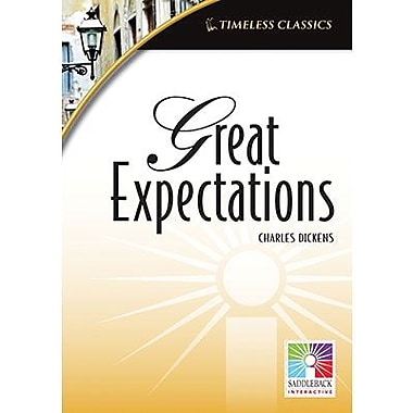 Saddleback Educational Publishing® Timeless Classics; Great Expectations, IWB, Grades 9 -12