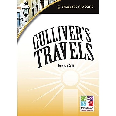 Saddleback Educational Publishing® Timeless Classics; Gulliver's Travels, IWB, Grades 9 -12
