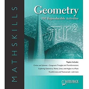 Saddleback Educational Publishing® Mathskills Geometry Binder; Grades 6-12