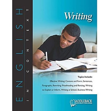 Saddleback Educational Publishing® Writing (Enhanced eBook); Grades 6-12