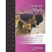Saddleback Educational Publishing® On the Job Math (Enhanced eBook); Grades 6-12