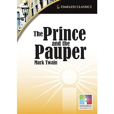 Saddleback Educational Publishing® Timeless Classics; The Prince and the Pauper, IWB, Grades 9 -12