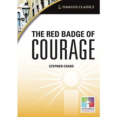 Saddleback Educational Publishing® Timeless Classics; The Red Badge of Courage, IWB, Grades 9 -12