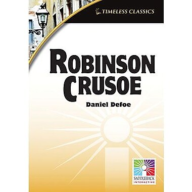 Saddleback Educational Publishing® Timeless Classics; Robinson Crusoe, IWB, Grades 9 -12
