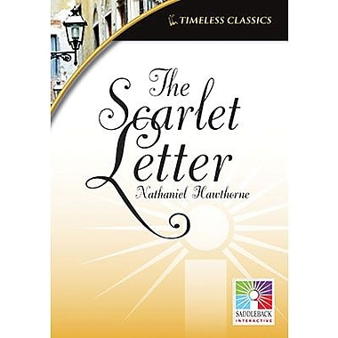 Saddleback Educational Publishing® Timeless Classics; The Scarlet Letter, IWB, Grades 9 -12