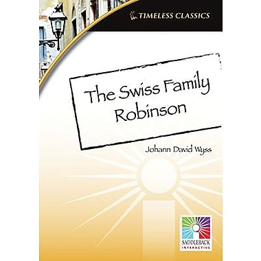 Saddleback Educational Publishing® Timeless Classics; Swiss Family Robinson, IWB, Grades 9 -12