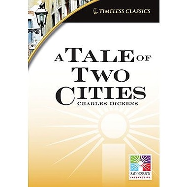 Saddleback Educational Publishing® Timeless Classics; A Tale of Two Cities, IWB, Grades 9 -12