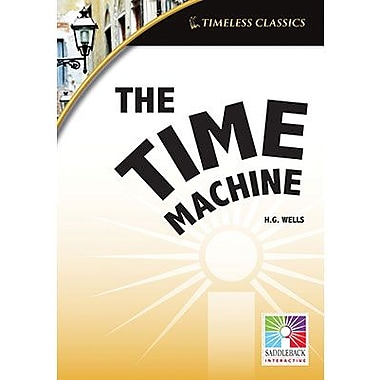 Saddleback Educational Publishing® Timeless Classics; The Time Machine, IWB, Grades 9 -12