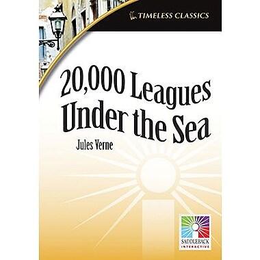 Saddleback Educational Publishing® Timeless Classics; 20,000 Leagues Under the Sea, IWB, Grades 9 -2