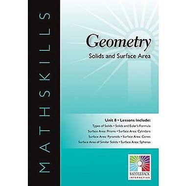 Saddleback Educational Publishing® Solids and Surface Area; IWB, Geometry, Grades 6-12