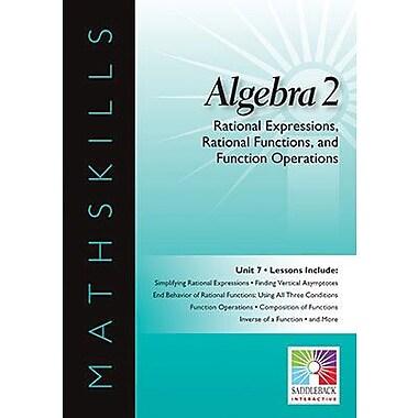 Saddleback Educational Publishing® Rational Expressions & Functions and Function Operations; IWB