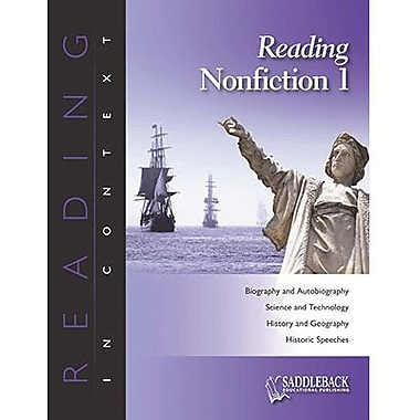 Saddleback Educational Publishing® Reading Nonfiction 1; Grades 6 -12