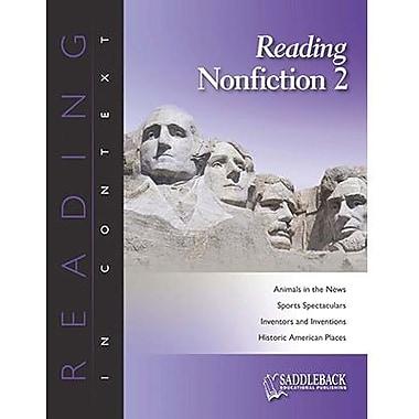 Saddleback Educational Publishing® Reading Nonfiction 2; Grades 6-12