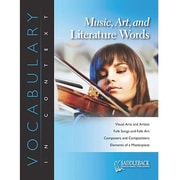 Saddleback Educational Publishing® Music, Art, and Literature Words; Grades 6-12
