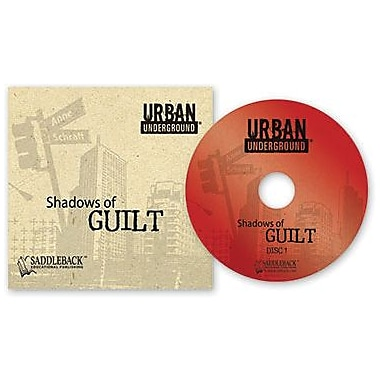 Saddleback Educational Publishing® Urban Underground Shadows of Guilt; Audiobook, Grades 9-12