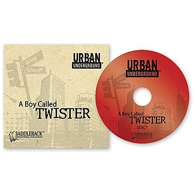 Saddleback Educational Publishing® Urban Underground A Boy Called Twister; Audiobook, Grades 9-12