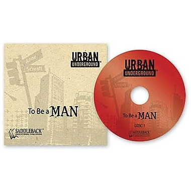 Saddleback Educational Publishing® Urban Underground To Be a Man; Audiobook, Grades 9-12