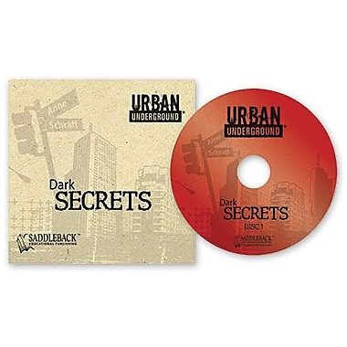 Saddleback Educational Publishing® Urban Underground Dark Secrets; Audiobook, Grades 9-12