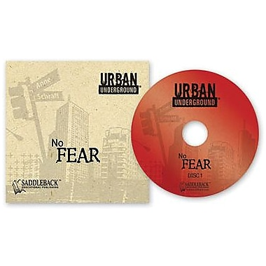 Saddleback Educational Publishing® Urban Underground No Fear; Audiobook, Grades 9 -12