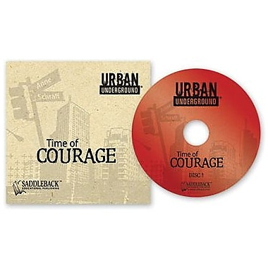 Saddleback Educational Publishing® Urban Underground Time of Courage; Audiobook, Grades 9-12