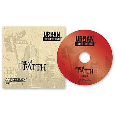 Saddleback Educational Publishing® Urban Underground Leap of Faith; Audiobook, Grades 9-12