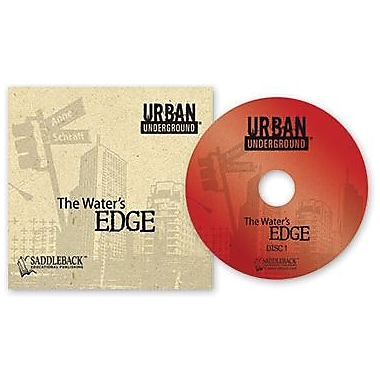 Saddleback Educational Publishing® Urban Underground Water's Edge; Audiobook, Grades 9-12