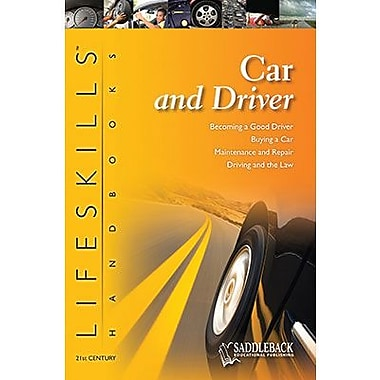 Saddleback Educational Publishing® Car and Driver Handbook; Grades 9-12