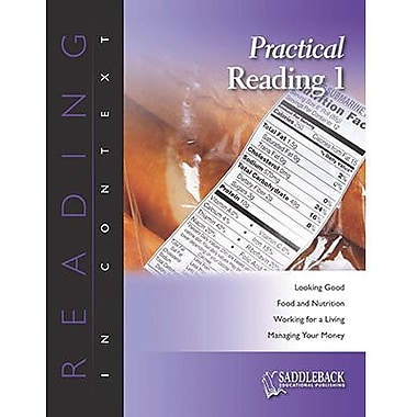 Saddleback Educational Publishing® Practical Reading 1; Enhanced eBook, Grades 6-12