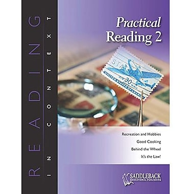 Saddleback Educational Publishing® Practical Reading 2; Enhanced eBook, Grades 6-12