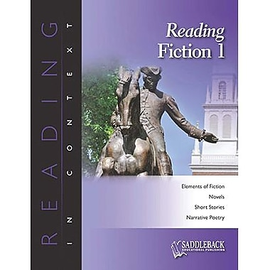 Saddleback Educational Publishing® Reading Fiction 1; Enhanced eBook, Grades 6-12