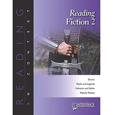 Saddleback Educational Publishing® Reading Fiction 2; Enhanced eBook, Grades 6-12