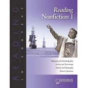 Saddleback Educational Publishing® Reading Nonfiction 1; Enhanced eBook, Grades 6-12