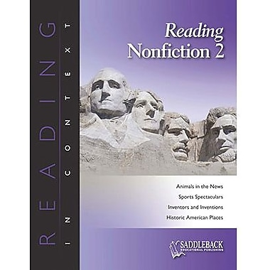 Saddleback Educational Publishing® Reading Nonfiction 2; Enhanced eBook, Grades 6-12
