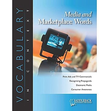 Saddleback Educational Publishing® Media and Marketplace; Enhanced eBook, Grades 6-12