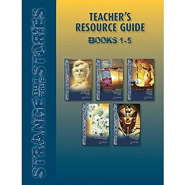 Saddleback Educational Publishing® Strange But True; Teacher's Resource Guide, CD, Grades 9-12