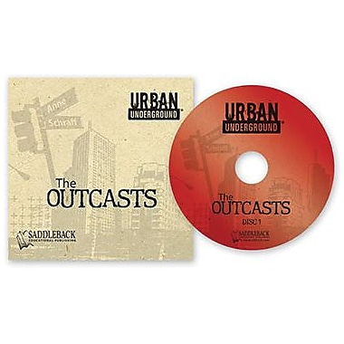 Saddleback Educational Publishing® Urban Underground Outcasts; Audiobook, Grades 9-12
