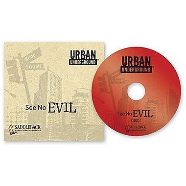 Saddleback Educational Publishing® Urban Underground See No Evil; Audiobook, Grades 9 -12