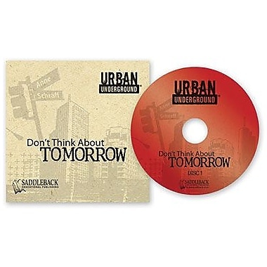 Saddleback Educational Publishing® Urban Underground Don't Think About Tomorrow; Audiobook