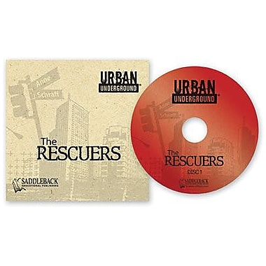 Saddleback Educational Publishing® Urban Underground Rescuers; Audiobook, Grades 9-12