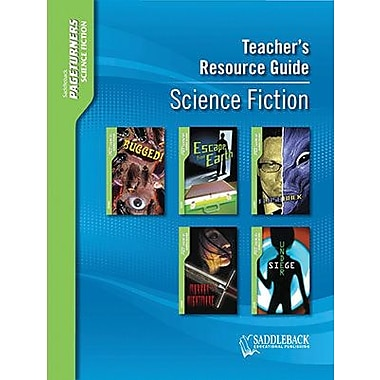 Saddleback Educational Publishing® Science Fiction Teacher's Resource Guide CD; Grades 9-12