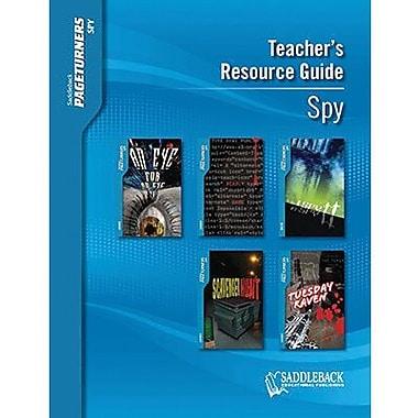 Saddleback Educational Publishing® Spy Teacher's Resource Guide CD; Grades 9-12