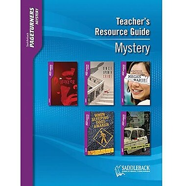 Saddleback Educational Publishing® Mystery Teacher's Resource Guide CD; Grades 9-12