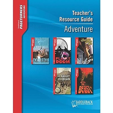 Saddleback Educational Publishing® Adventure Teacher's Resource Guide CD; Grades 9-12