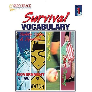 Saddleback Educational Publishing® Survival Vocabulary 1; Grades 9-12
