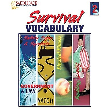 Saddleback Educational Publishing® Survival Vocabulary 2; Grades 9-12